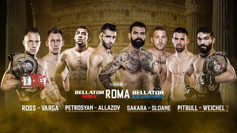 Bellator Roma, la cardfinale