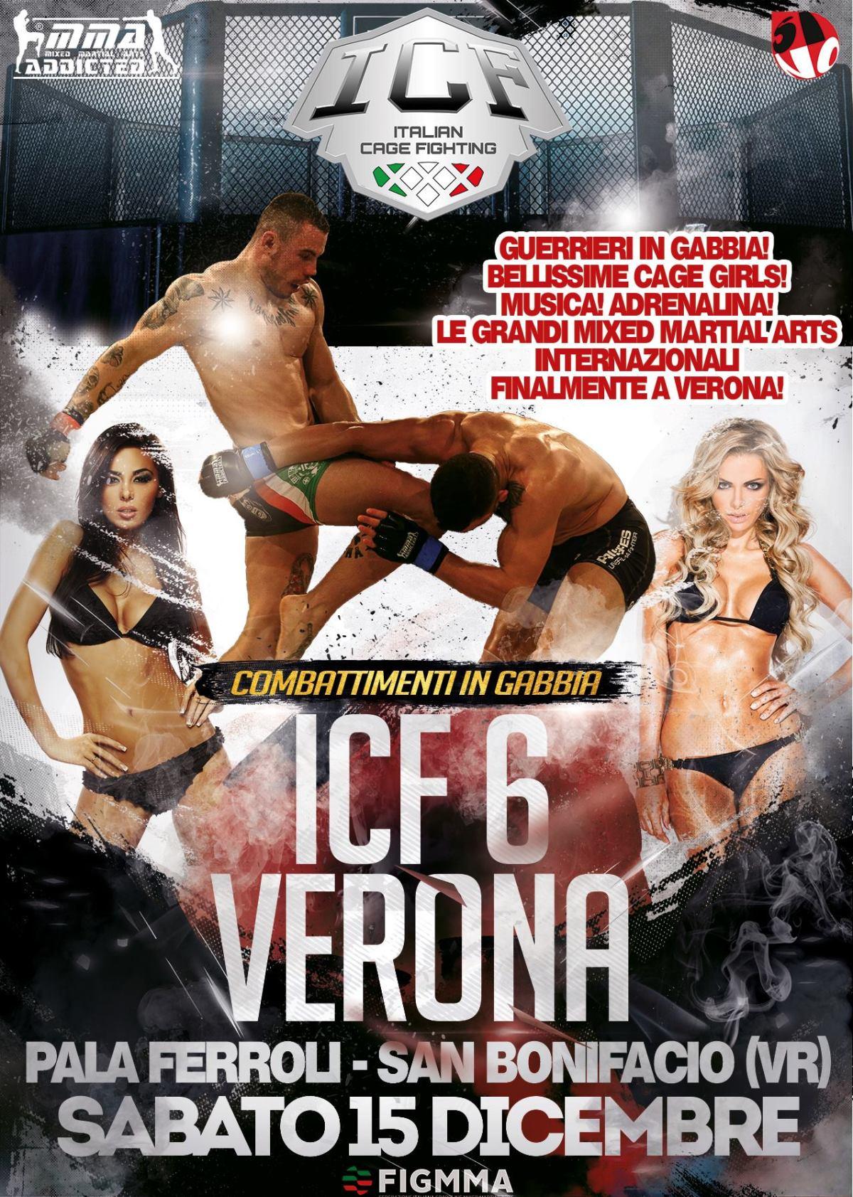ICF 6 Verona, annunciati 4 matchtitolati
