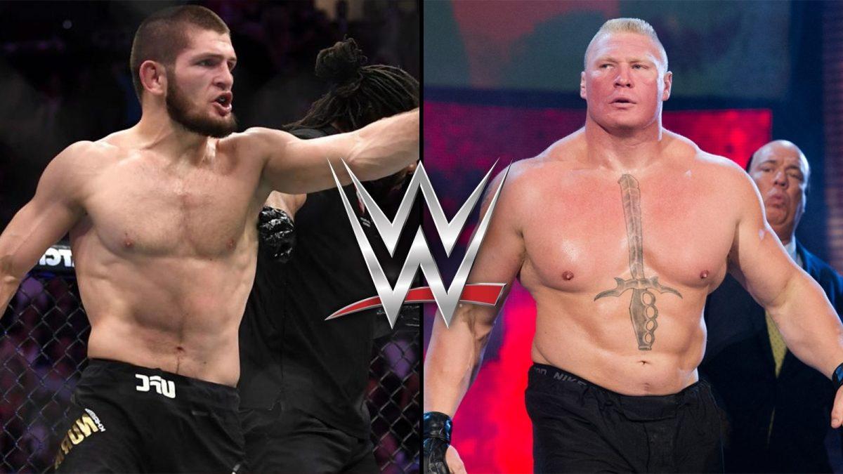 La WWE fa un'offerta a Khabib, lui chiama in causaLesnar