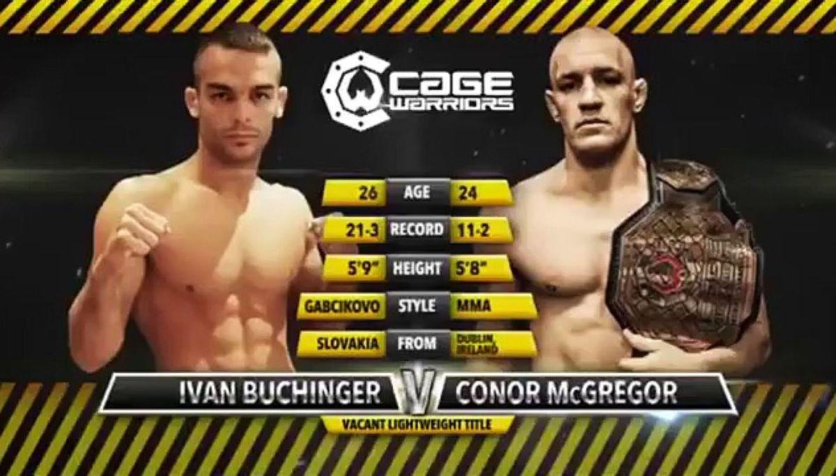 L'ultima volta di McGregor contro un fighter dell'Est Europa[VIDEO]