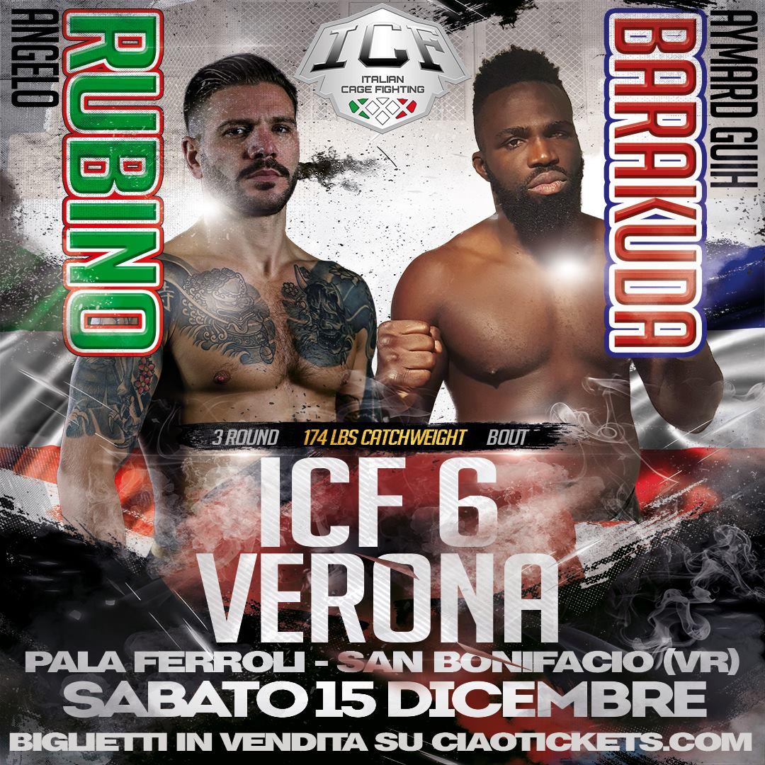 ICF annuncia 8 nuovi match per il sesto evento a Verona. 2 per il titolo, tornano Zecchini eRubino