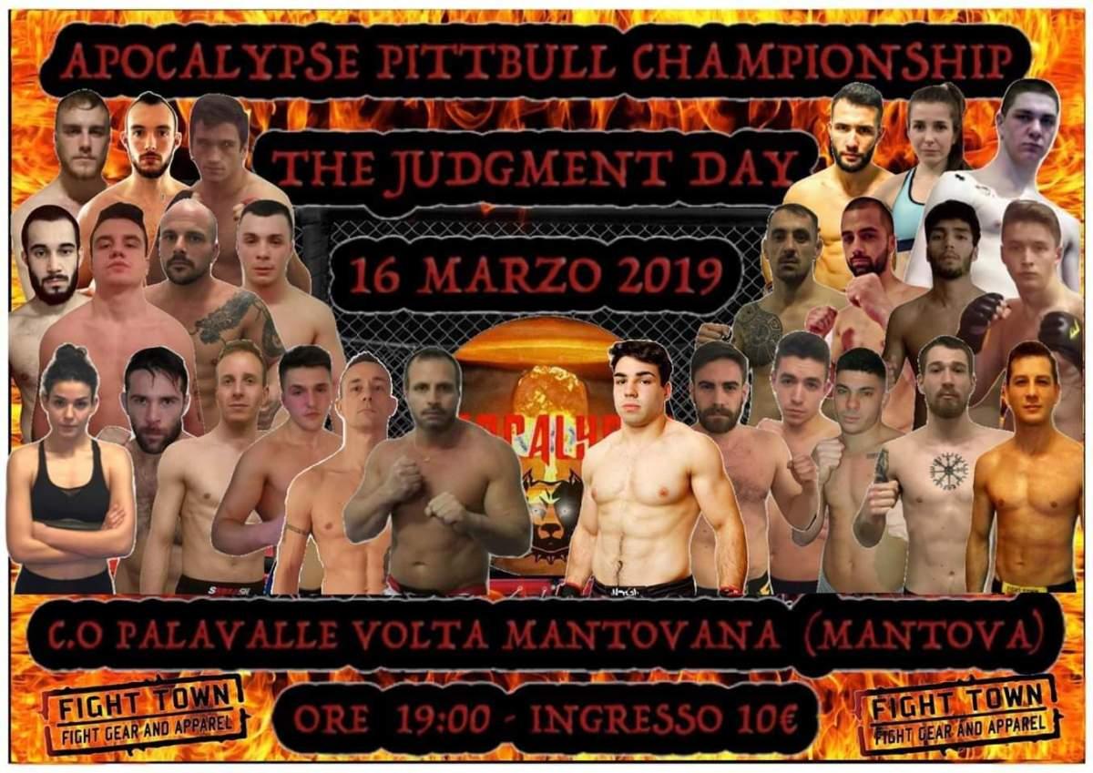 Apocalypse Pittbull Championship X irisultati