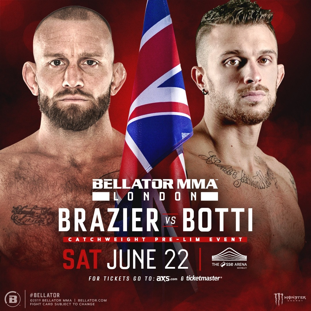 London Calling in short-notice: Brazier vs. Botti